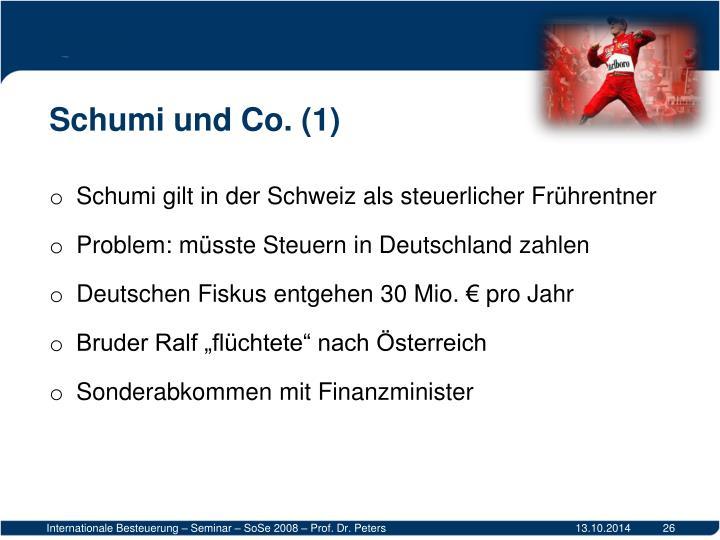 Schumi und Co. (1)