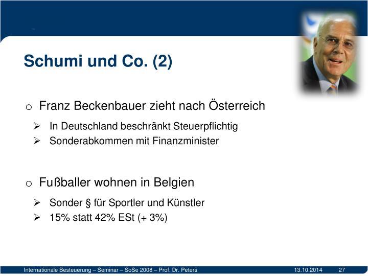 Schumi und Co. (2)