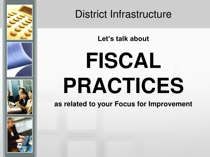 District Infrastructure