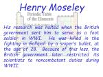 henry moseley1