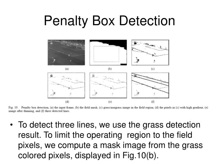 Penalty Box Detection