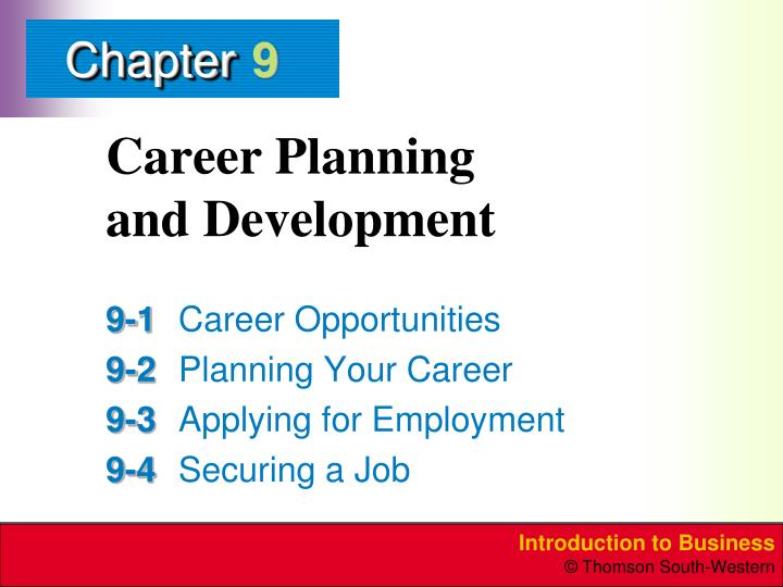 career planning and development n.
