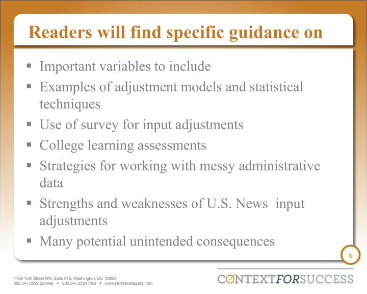 Readers will find specific guidance on