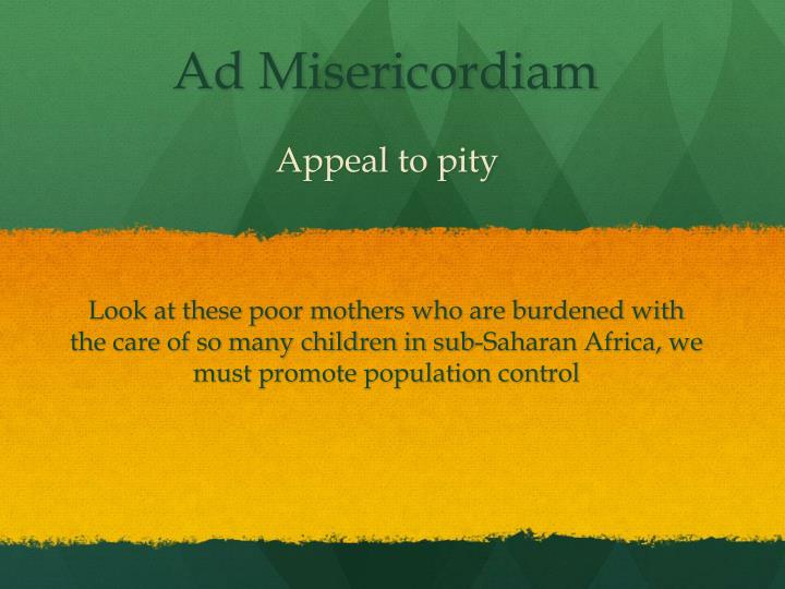 Appeal to pity