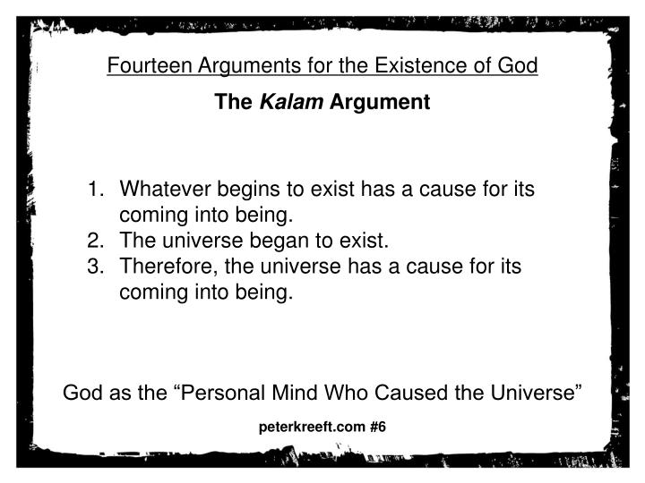 Fourteen Arguments for the Existence of God