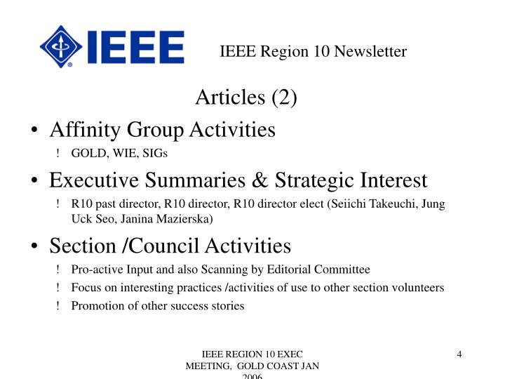 Articles (2)