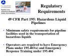 regulatory requirements1