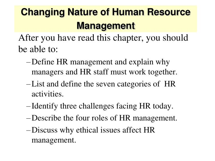 human resource management identify three key activities The pattern of planned human resource deployments and activities intended to  strategic hrm: the key to  of strategic human resource management.