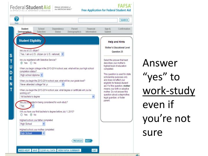 """Answer """"yes"""" to"""