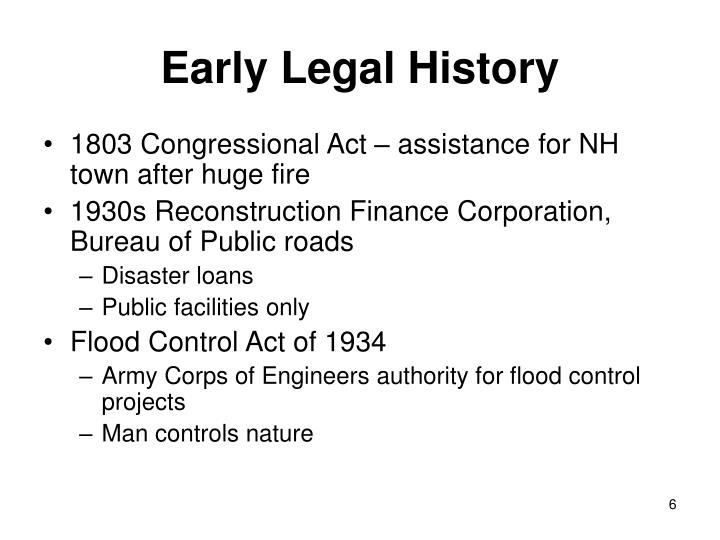 Early Legal History