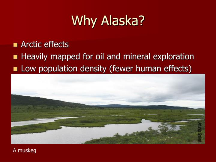 Why Alaska?