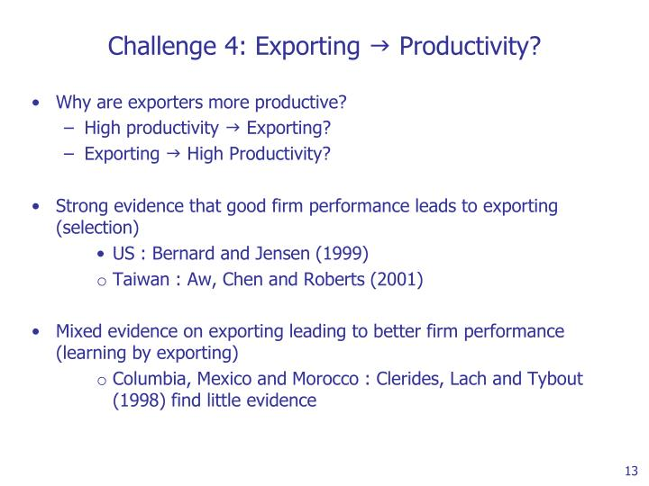 Challenge 4: Exporting