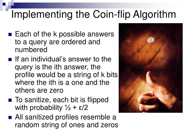 Each of the k possible answers to a query are ordered and numbered