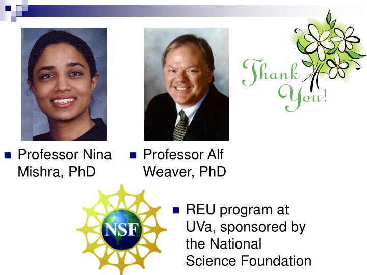 Professor Alf Weaver, PhD
