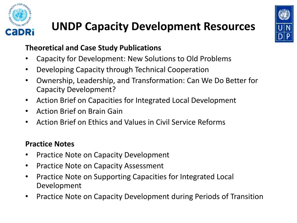 BOOK ON CAPACITY FOR DEVELOPMENT TO BE LAUNCHED ON 5 JULY