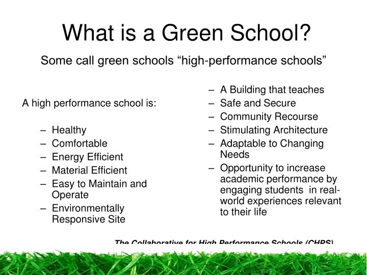 A high performance school is: