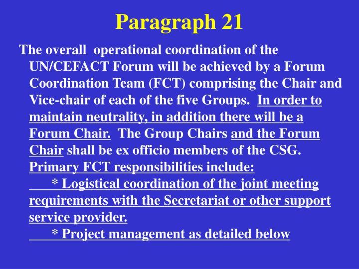 Paragraph 21