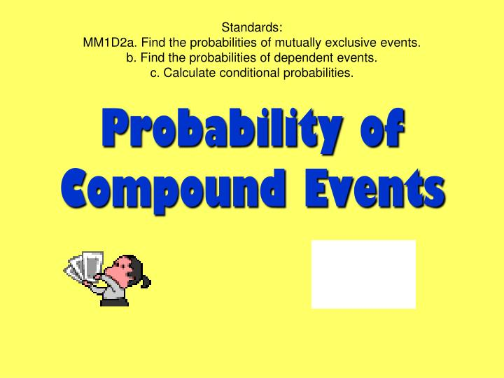 Ppt probability of compound event powerpoint presentation id.