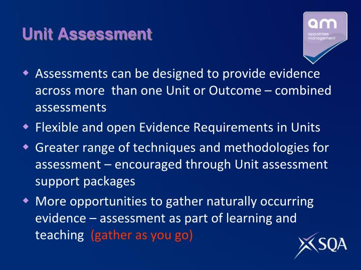unit iii assessment Unit 3 in this unit you will learn about instructional design and individual assessment, including multiple-choice question writing, skill assessment, oral presentation, and rubrics and standardization.