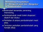 metodologi penyelidikan 4 mengenal pasti dan mengukur pembolehubah