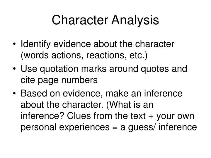 eveline character analysis works cited page Response 1- eveline by james joyce (pg 4) after reading chapter 1 and story, respond to question 14, 16, 18, or 19 on page 11 begin with a thesis statement and draw on examples from eveline for support.