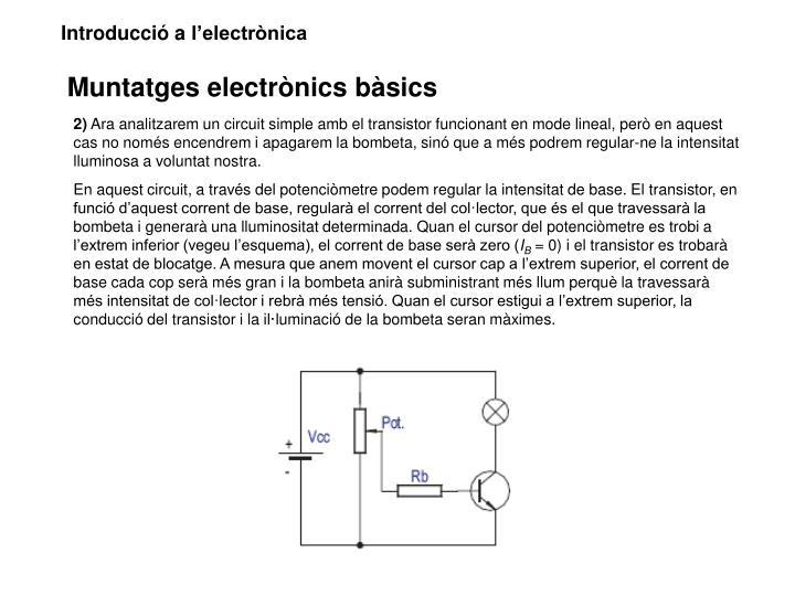 Introducció a l'electrònica