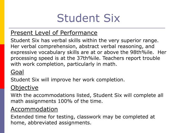 Student Six