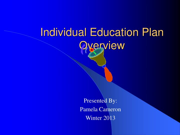 individual education plan overview n.