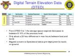 digital terrain elevation data dted