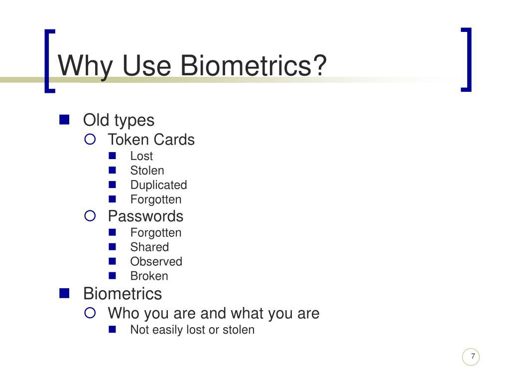 PPT - Biometrics PowerPoint Presentation - ID:5495954