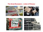 the great recession links in pictures