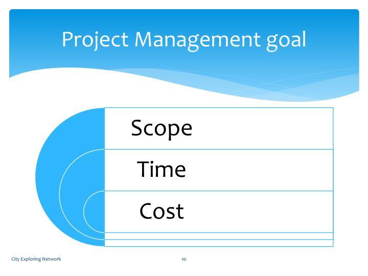 Project Management goal