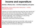 income and expenditure2