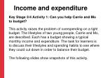income and expenditure4
