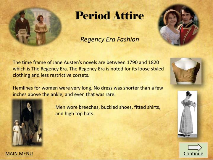 Period Attire