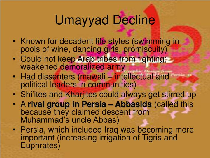 Umayyad Decline