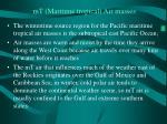 mt maritime tropical air masses