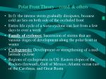 polar front theory contd others