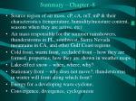 summary chapter 8
