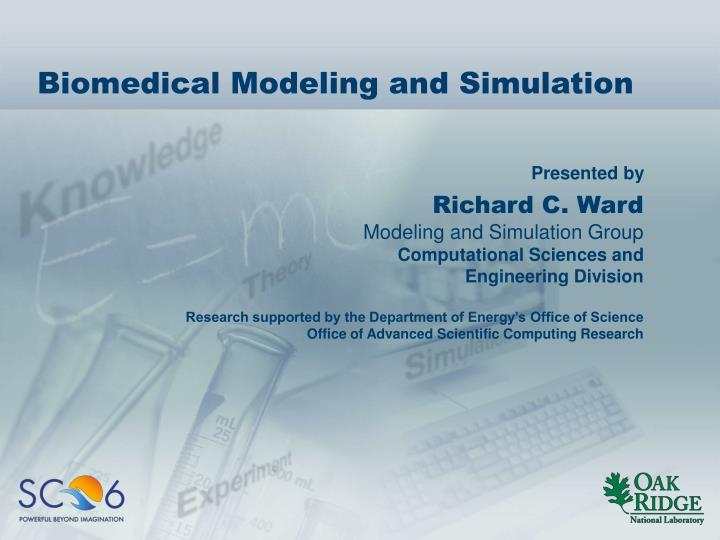 PPT - Biomedical Modeling and Simulation PowerPoint Presentation