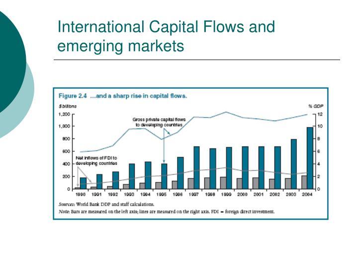International Capital Flows and emerging markets