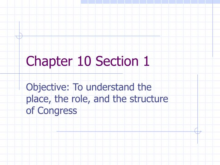 chapter 10 section 1 n.
