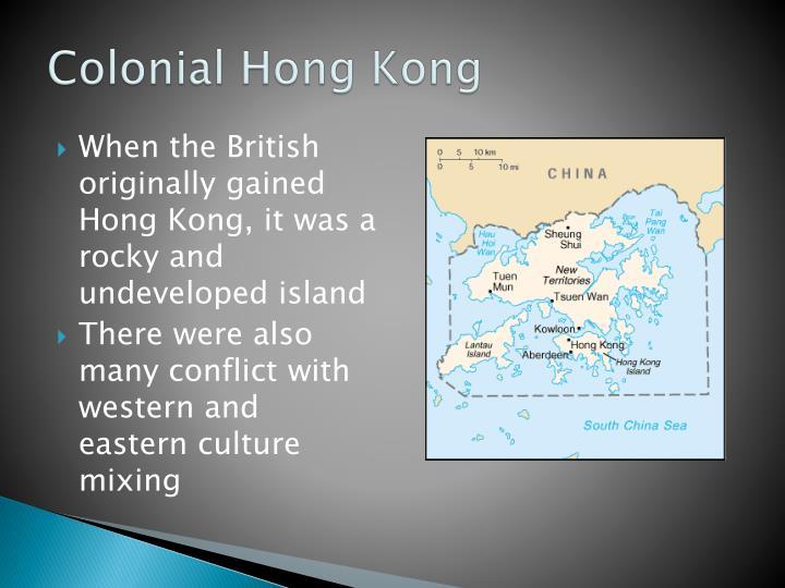 Colonial hong kong