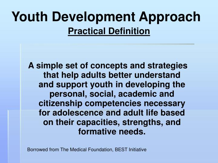 Youth Development Approach