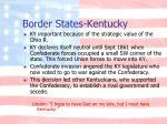 border states kentucky