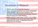 showdown in missouri