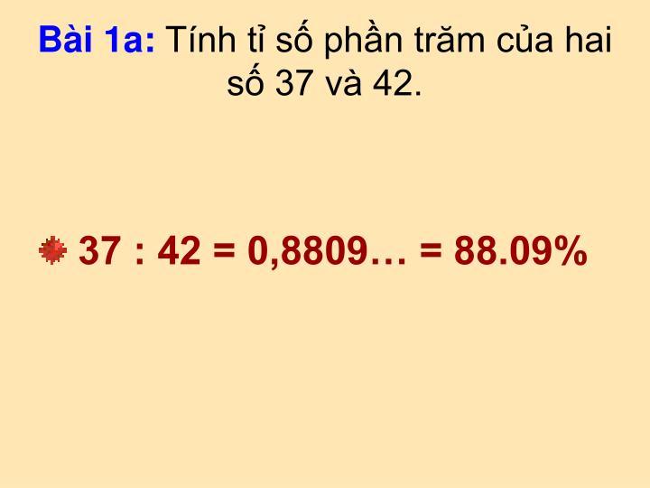 Bài 1a: