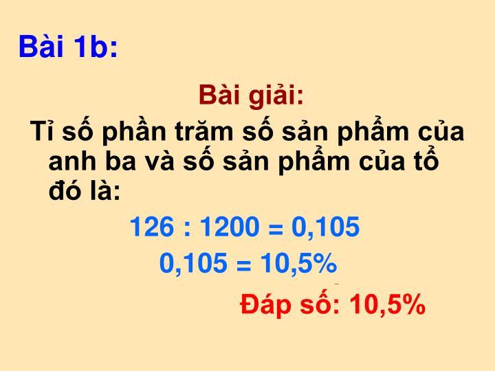 Bài 1b: