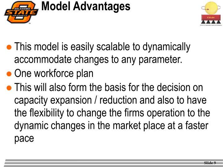 Model Advantages