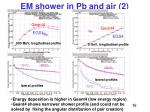 em shower in pb and air 2